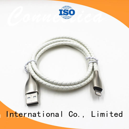 usb a port to usb type c multi charger cable pet Connectica charger