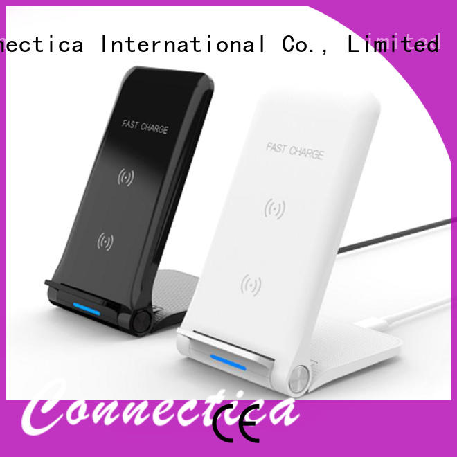 Connectica charger foldable wireless cell phone charger cwc for pc