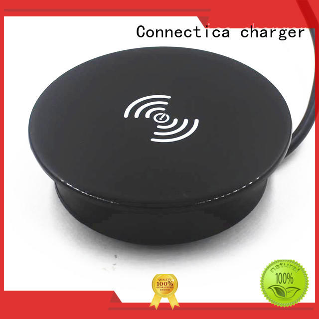 mini portable wireless charger mousepad for pc