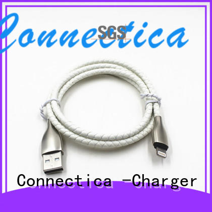 assured pvctpe Connectica charger Brand charging cable