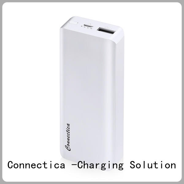 Connectica notepad power bank 10400 company for travelling