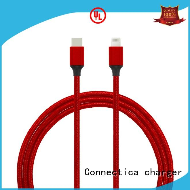 Connectica charger conn mfi lightning cable manufacturer