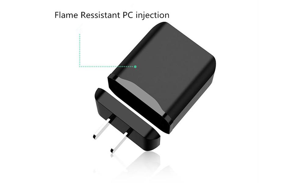 PD & QC 3.0 Traveler Charger for Flame Resistant PC CTC-0004-2