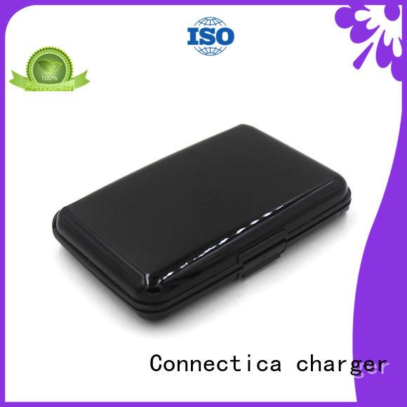 Connectica charger Brand builtin pad power power bank manufacturer blocker