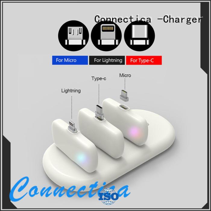 retardant notepad portable power bank connectors Connectica charger