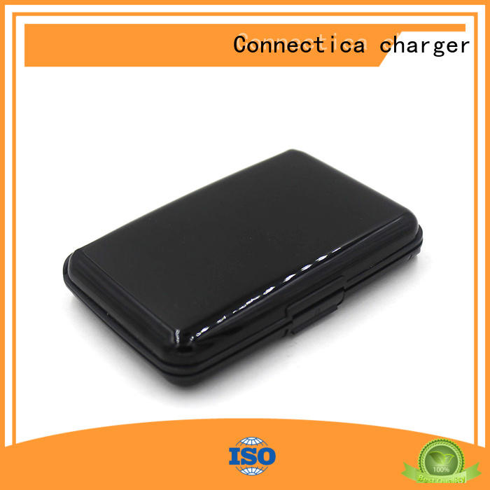 wireless charging power bank high quality for abc and pc flame retardant Connectica charger