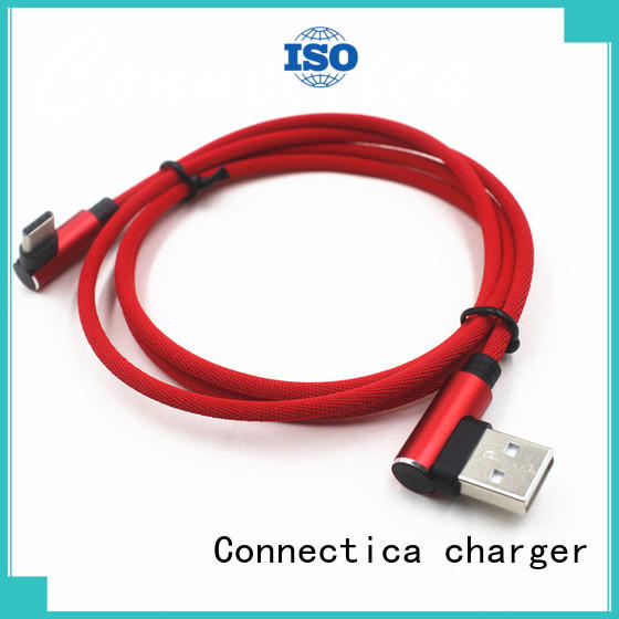 Connectica charger oem micro usb cord with molding