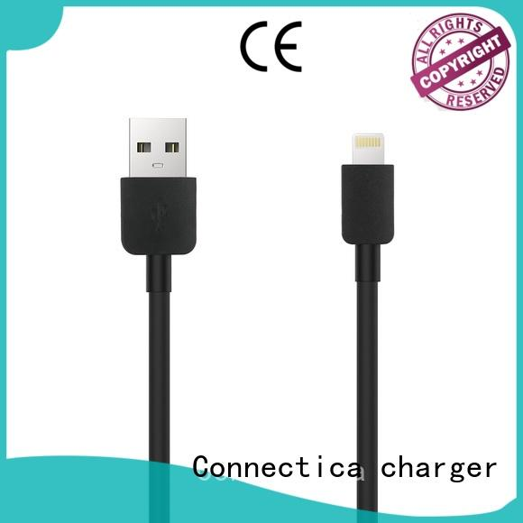 Custom assured tpepvc charging cable Connectica charger pvctpe