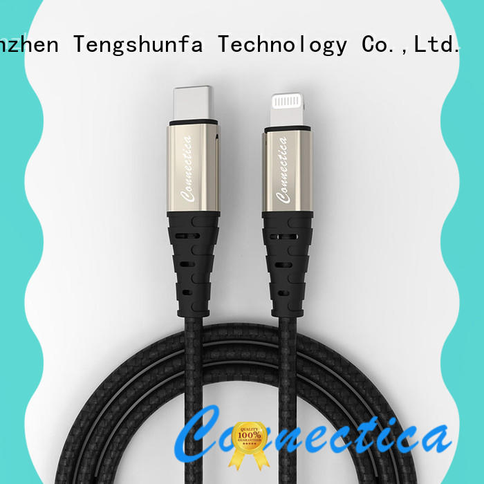 Connectica pet best lightning cable manufacturers for the game