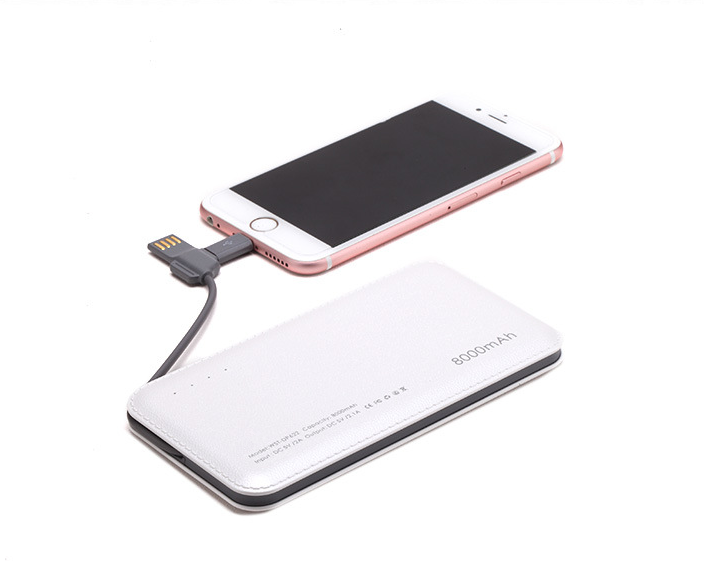 Connectica charging high quality slim power bank with wireless charging for abc and pc flame retardant-3