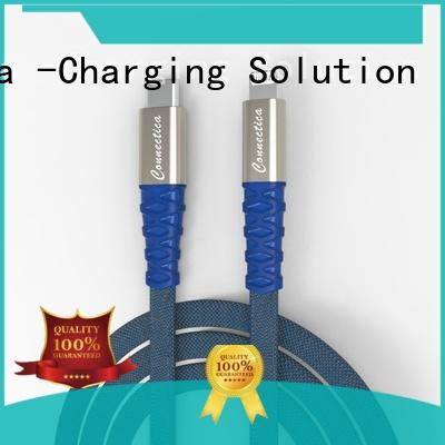 Kevlar apple lightning cable braided house data charging cable for iPhone