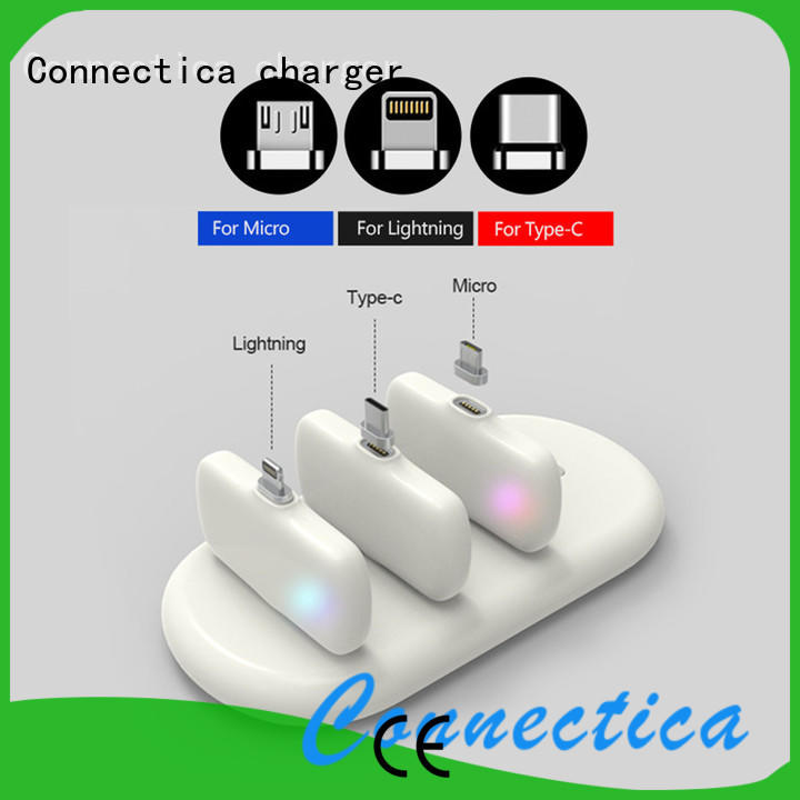 Connectica charger high quality slim power bank with rfid blocker for travelling