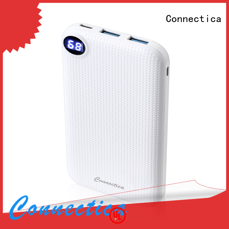 Connectica mfi usb power bank Suppliers for working