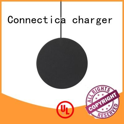 portable wireless charger qi ultra mini Warranty Connectica charger