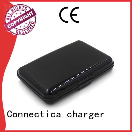 wireless wallet dock portable power bank Connectica charger Brand company