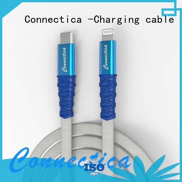 pet micro usb cord manufacturer Connectica charging