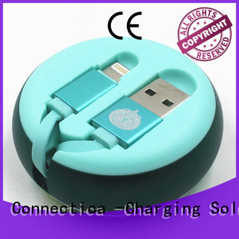 Connectica Custom lead lightning Suppliers for android phone