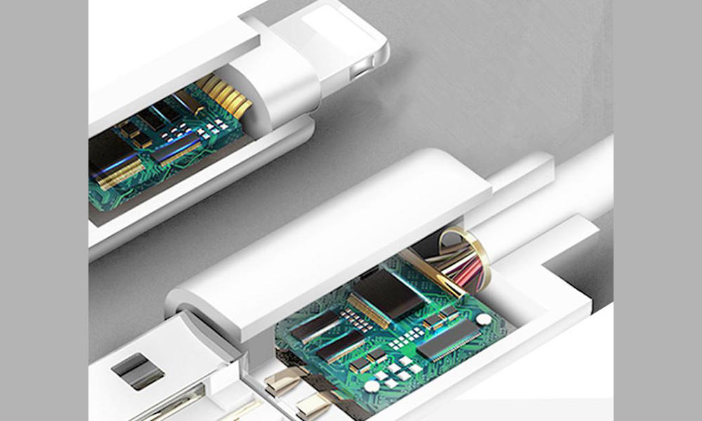 Connectica charging usb a port to usb type c type c usb cable with molding-3