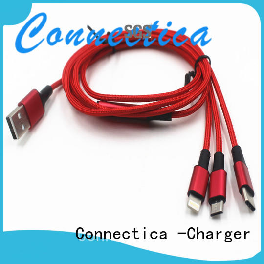 certification tpepvc Connectica charger Brand charging cable