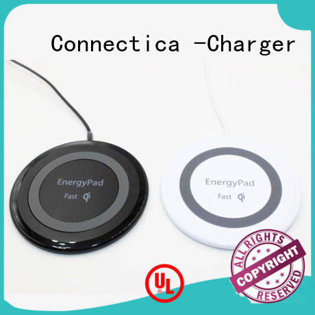 Connectica charger charging cell phone charging pad light for