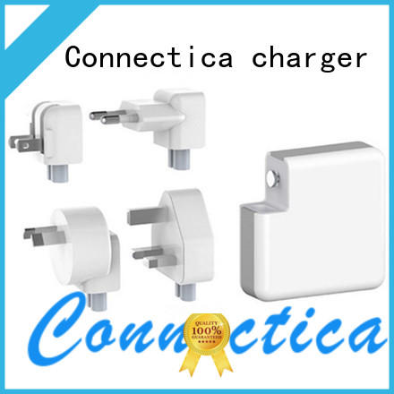 travel 2 port usb wall charger mini ressistant Connectica charger Brand