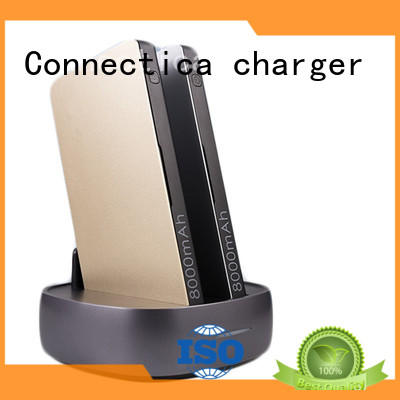 portable wireless charging power bank charger cable Connectica charger