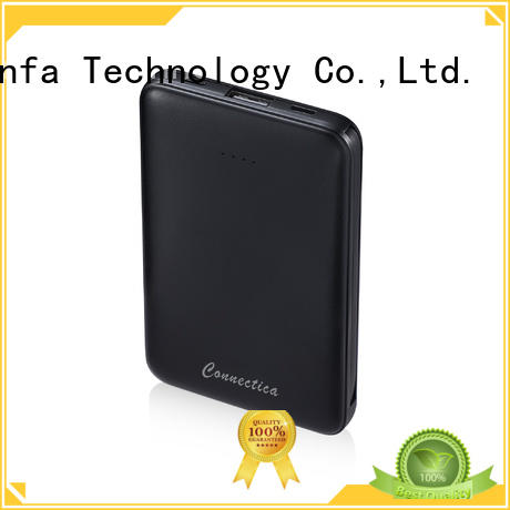 Connectica suede pad bateria power bank manufacturers for travelling