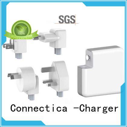 Connectica charger portable travel charger ctc for high density