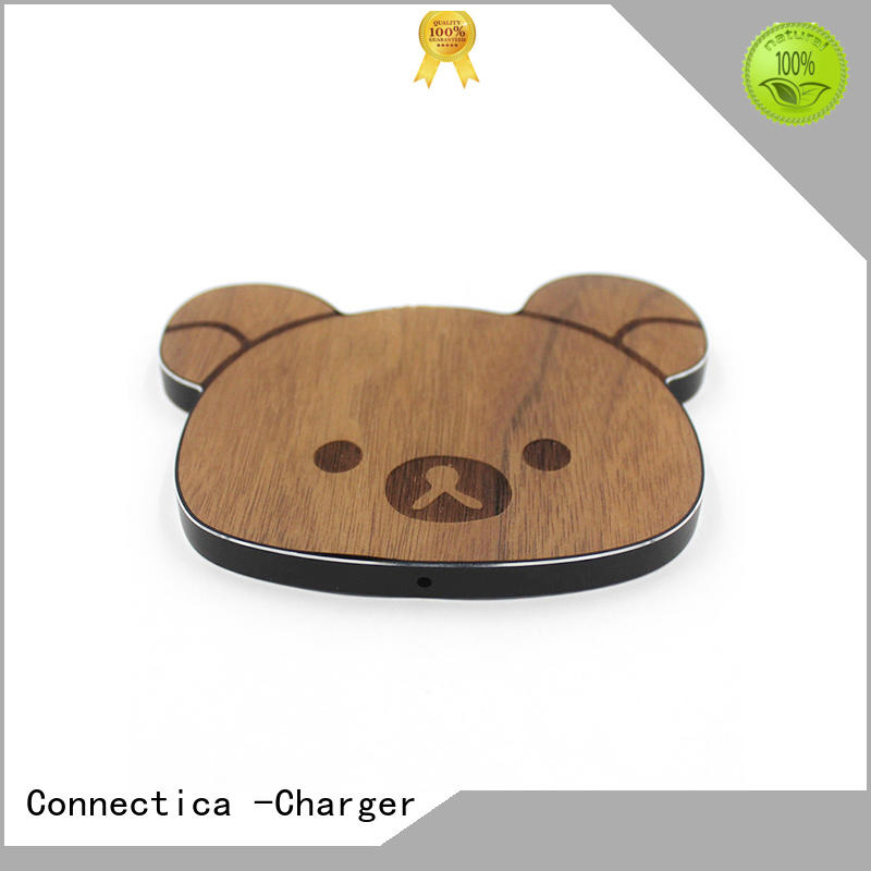 shape charge portable wireless charger Connectica charger manufacture