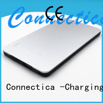 Connectica excellent wireless charging power bank with rfid blocker for mobile phone