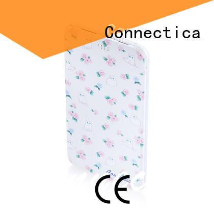 Connectica hot sale cell phone power bank for business for travelling