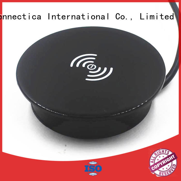 Connectica charger Brand qi shape plate charging pad manufacture