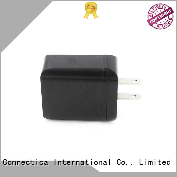 PD & QC 3.0 Traveler Charger for Flame Resistant PC CTC-0004