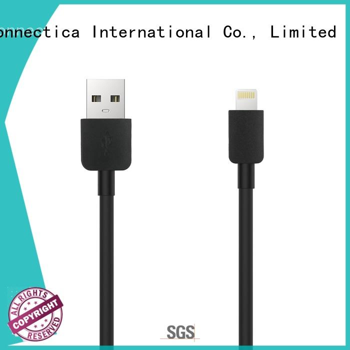 Hot mfi usb cable certification Connectica charger Brand