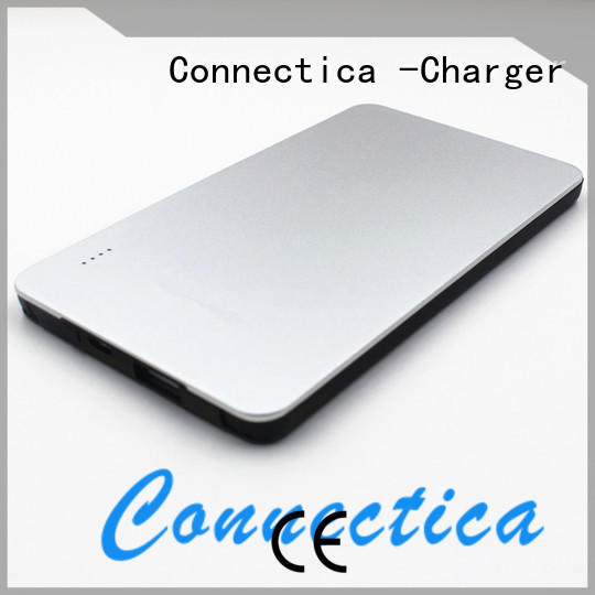 built charging power builtin portable power bank Connectica charger