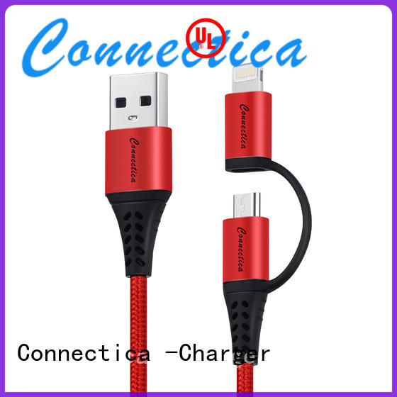 mfi apple usb cable pvc Connectica charger