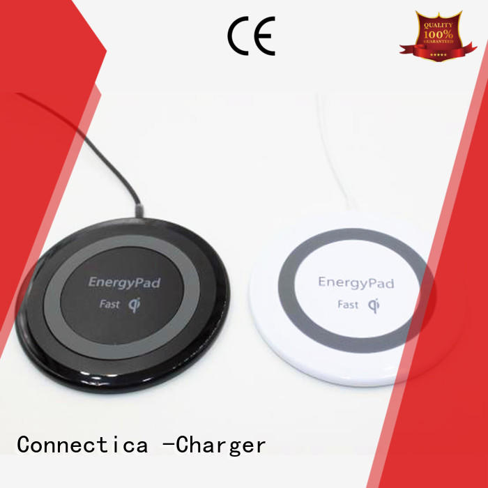 ultra pad charging pad qi car Connectica charger company