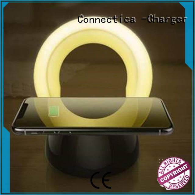 wireless cell phone charger charging for Connectica charger