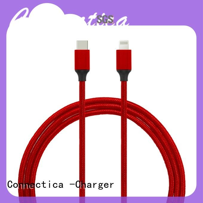 usb a port to usb type c usb cable with multiple ends with molding Connectica charger