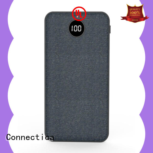 Connectica cpc mini powerbank with pd and qc for travelling