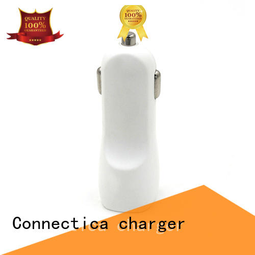 Connectica charger Brand features best car charger incar supplier
