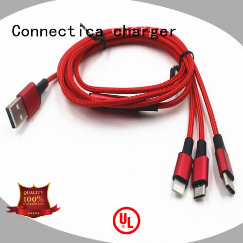 Connectica charger Brand datacharging connector mfi usb cable