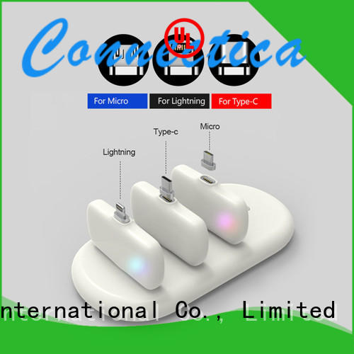 universal power bank high quality for working Connectica charger