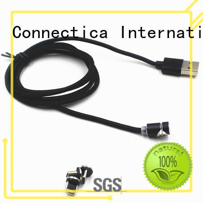 Custom assured charging cable certification Connectica charger