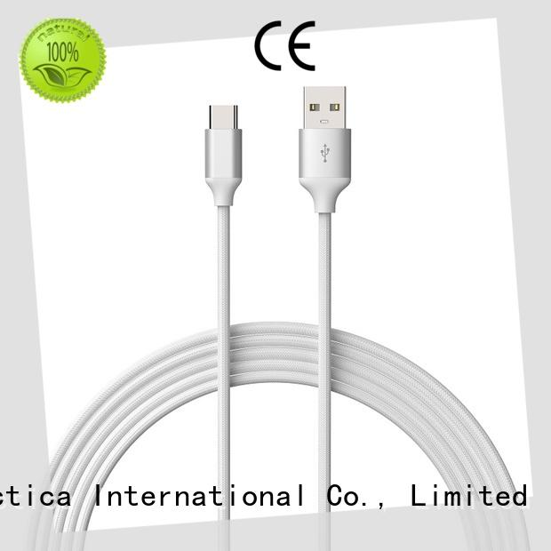 Connectica charger braided best micro usb cable usb a port to usb type c
