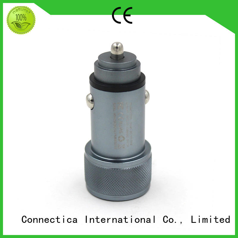 usb type c car charger pc for mobile Connectica charger