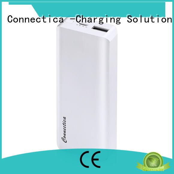 Connectica mfi taşınabilir şarj cihazı manufacturers for working