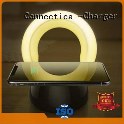 qi pu Connectica charger Brand portable wireless charger