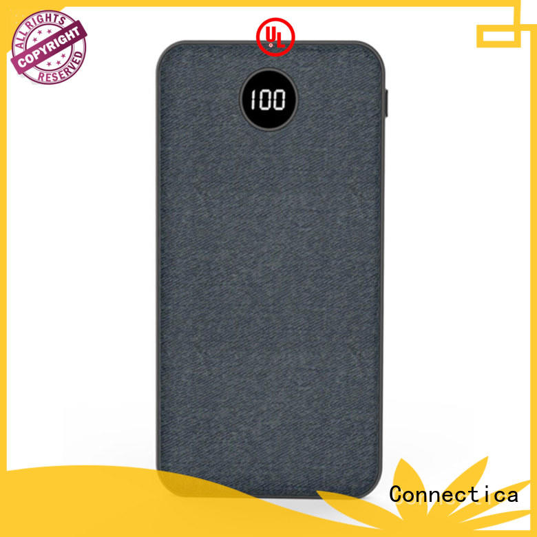 power card wallet power bank 20000 cpc with charging dock for working