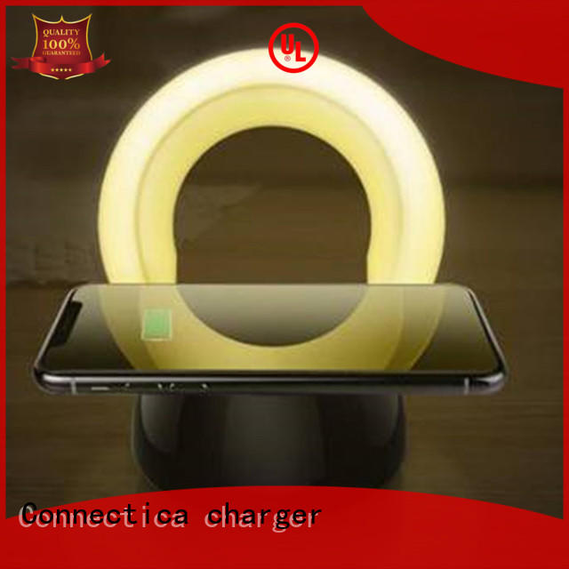 cell phone charging pad hot sale for pu Connectica charger